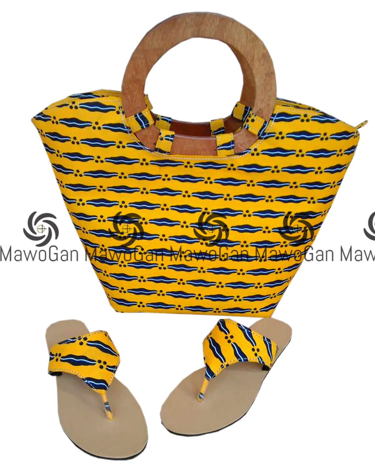 Handbag tote, Wax print, printed tote, African fabric handbag, Blue tote bag, African printed bag, unique bag, printed tote,