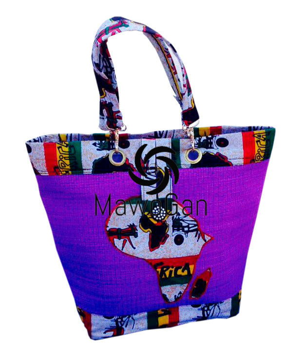 Lovely Africanprint bag HeBa
