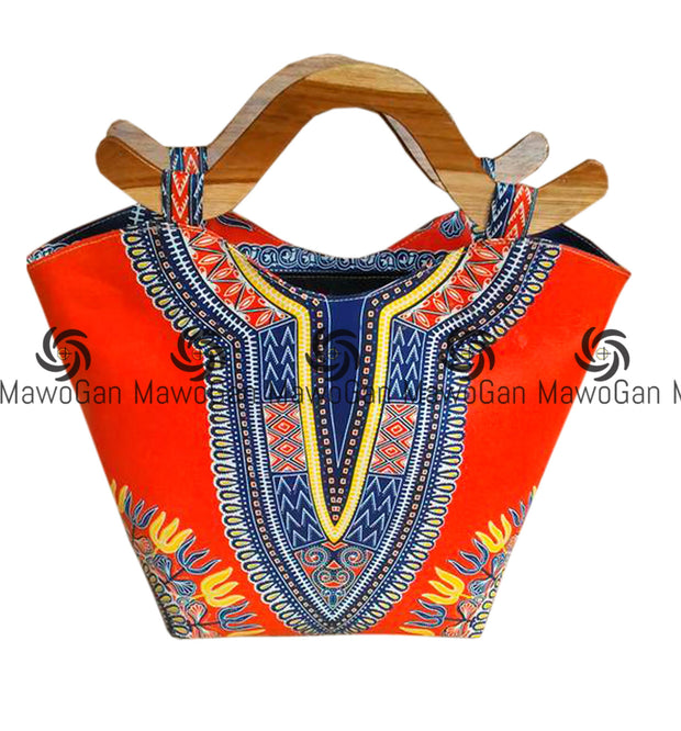 Dashiki, African pint,Beautiful african Bag