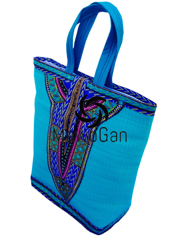 Lovely African print bag tote