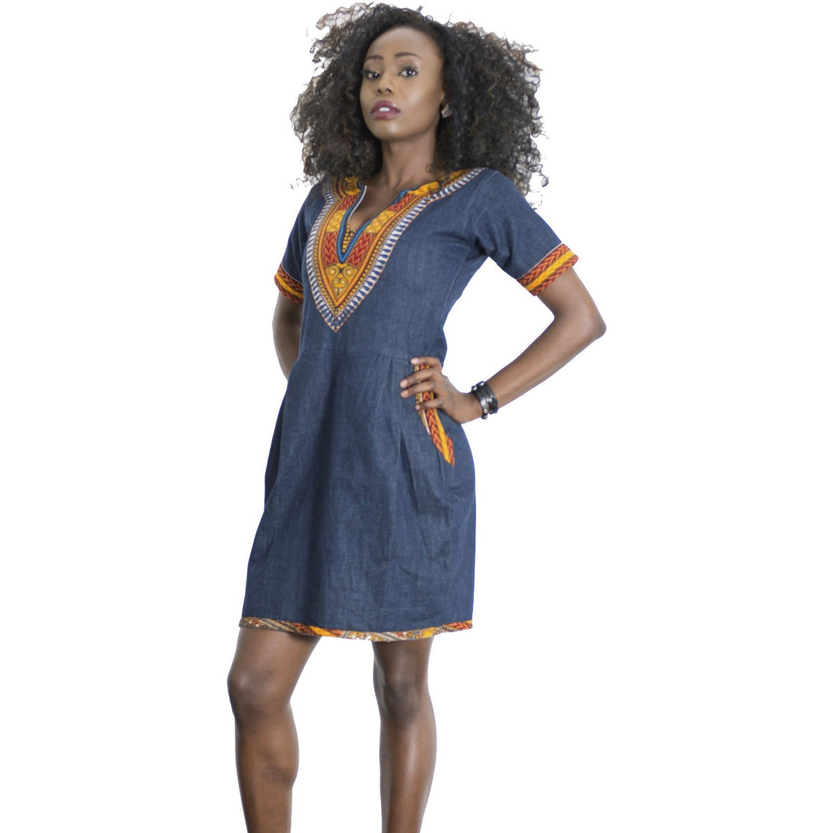Dashiki Denim Borah