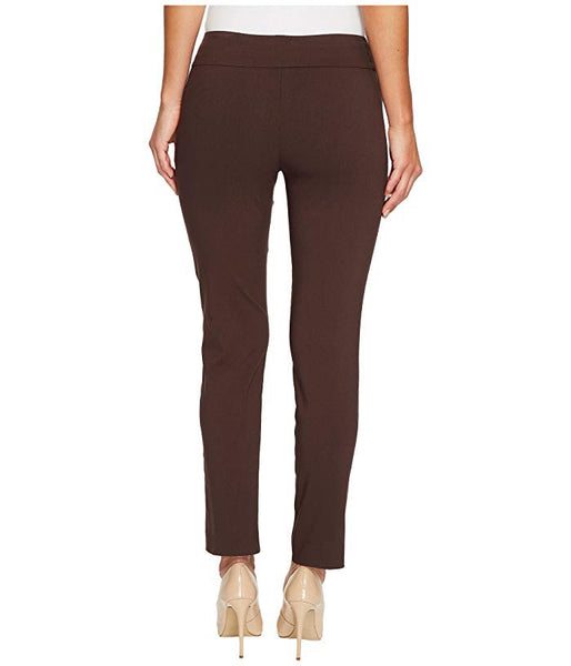 Brown Krazy Larry Pull On Ankle Pant
