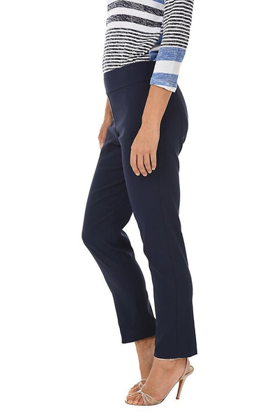 Navy Krazy Larry Pull On Ankle Pant