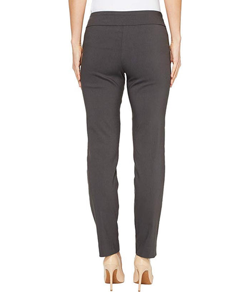 Grey Krazy Larry Pull On Ankle Pant