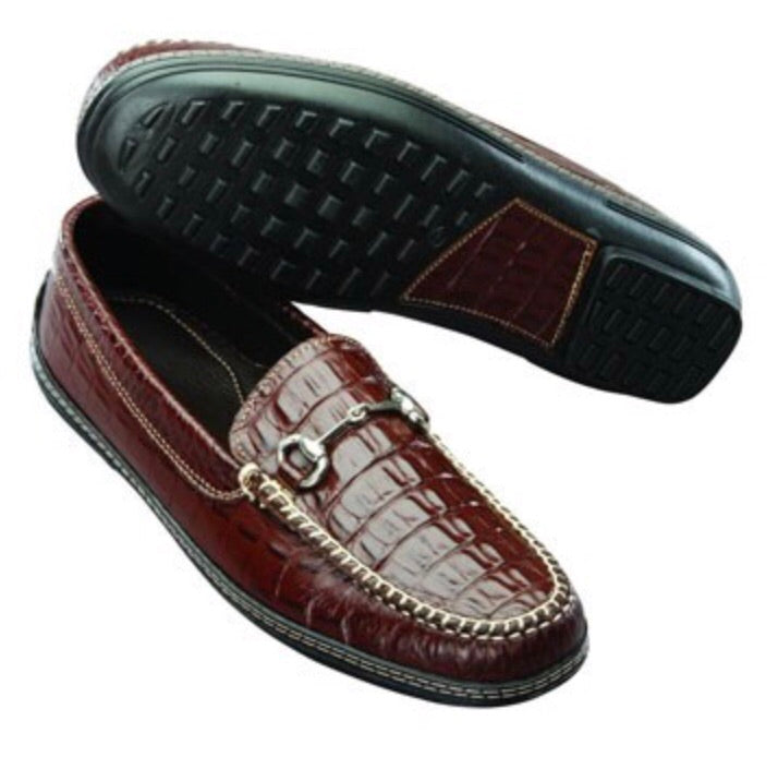 Croco Horse Bit Loafer