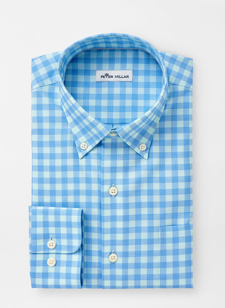 Peter Millar Crown Ease Garrett Sport Shirt Riverbed