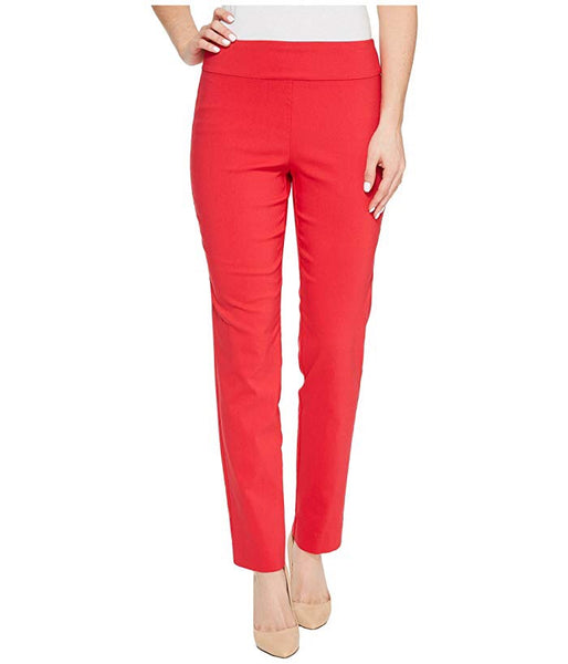 Red Krazy Larry Pull On Ankle Pant