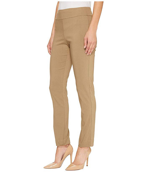 Taupe Krazy Larry Pull On Ankle Pant
