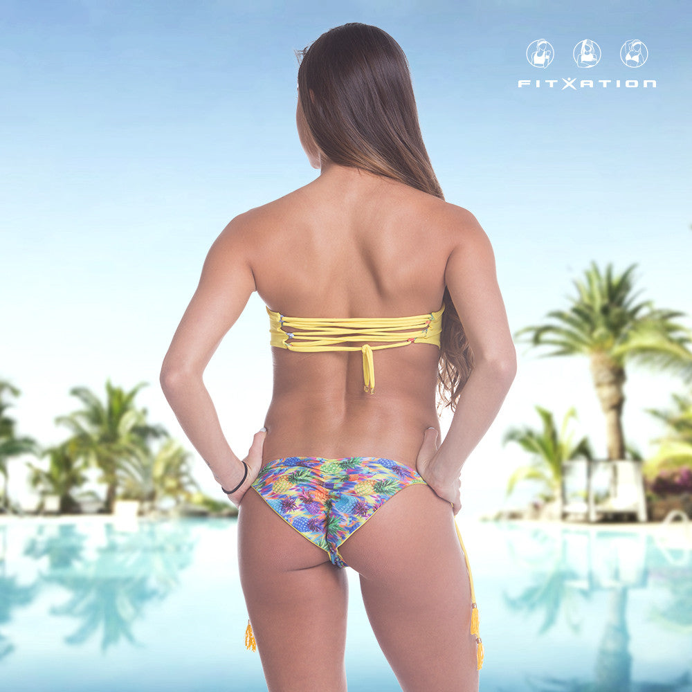 2b944d3347092 FIT Venus Reversable Bottom Yellow Bikini – FITXATION