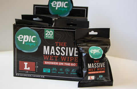 20-pack Large Wipes