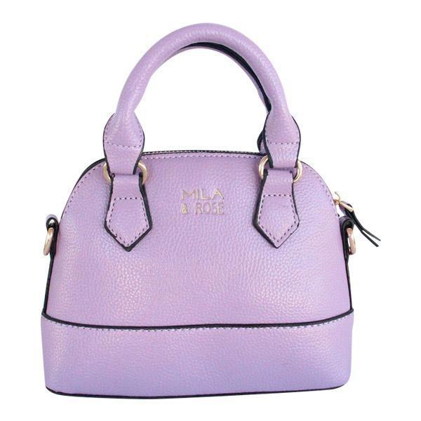 Mila and Rose Purse Handbag Leather Lavender, Rainbow, Teal, Gold, Pink for Girls