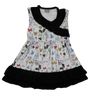 Disney World Mickey Girls Boutique Dress with Dumbo, Tinkerbell, Tea Cups and more!