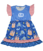 Cinderella Princess Disney Boutique Dress for Girls and Toddlers