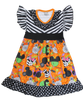 minnie mouse girls halloween dress mickey halloween witch pumpkin clothes boutique baby toddler