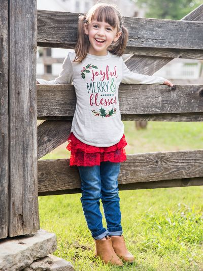 Southern Grace  -  Joyful Shirt Mommy & Me