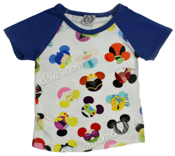 Shirt-Disney Mickey Ears Characters