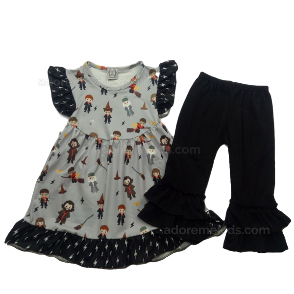Harry Potter Girls Outfit Boutique Clothes with Ron, Hermione, and Dumbledore