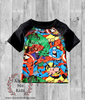 Marvel Superhero Raglan Shirt