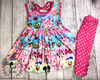Minnie Mickey Mouse Princess Boutique Girls Outfit