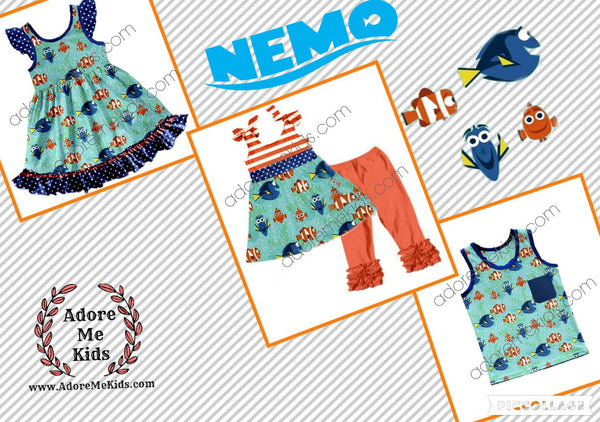 Shirt - Nemo and Dory Shirt