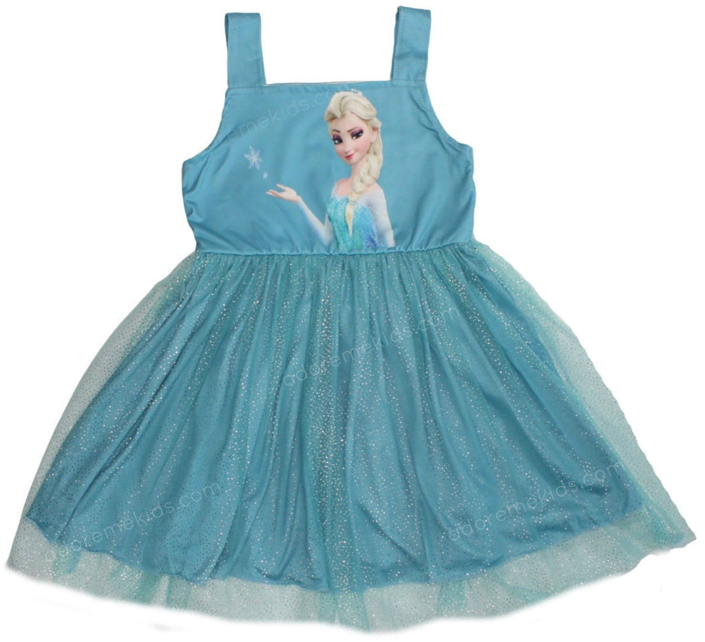 Frozen  Elsa Girls Dress Princess  Tutu Boutique Clothes for Toddlers and Baby