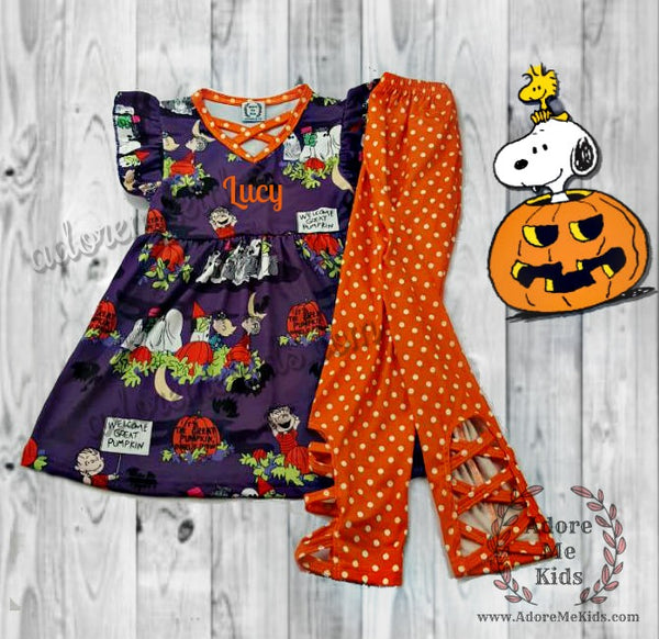Outfit- Snoopy Peanuts Halloween Outfit