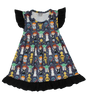 star wras girl dress boutiwque star wars clothes girl baby toddler yoda