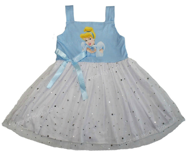 Cinderella Girls Dress Twirl Princess Boutique Clothes for Toddlers and Baby