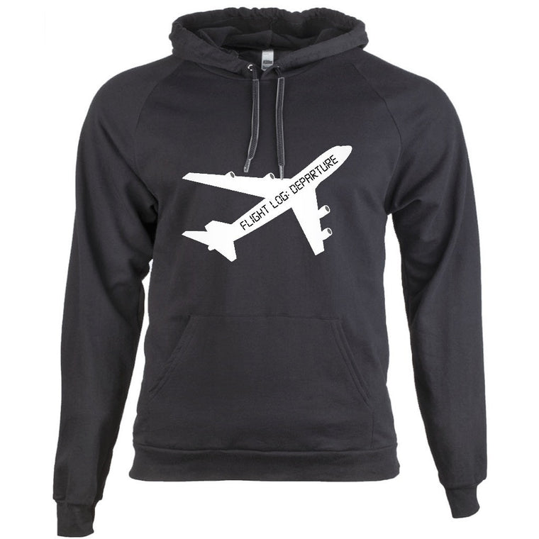 Flight Log: Departure Hoodie (Black Ver)