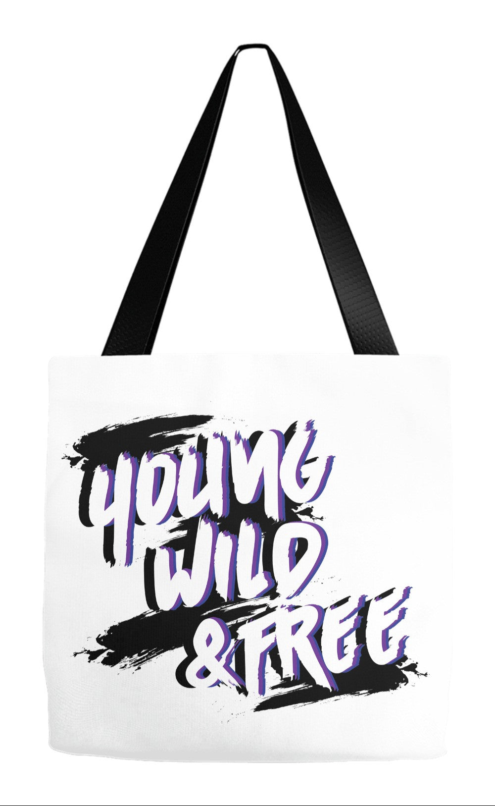 B.A.P Young, Wild and Free Tote Bag