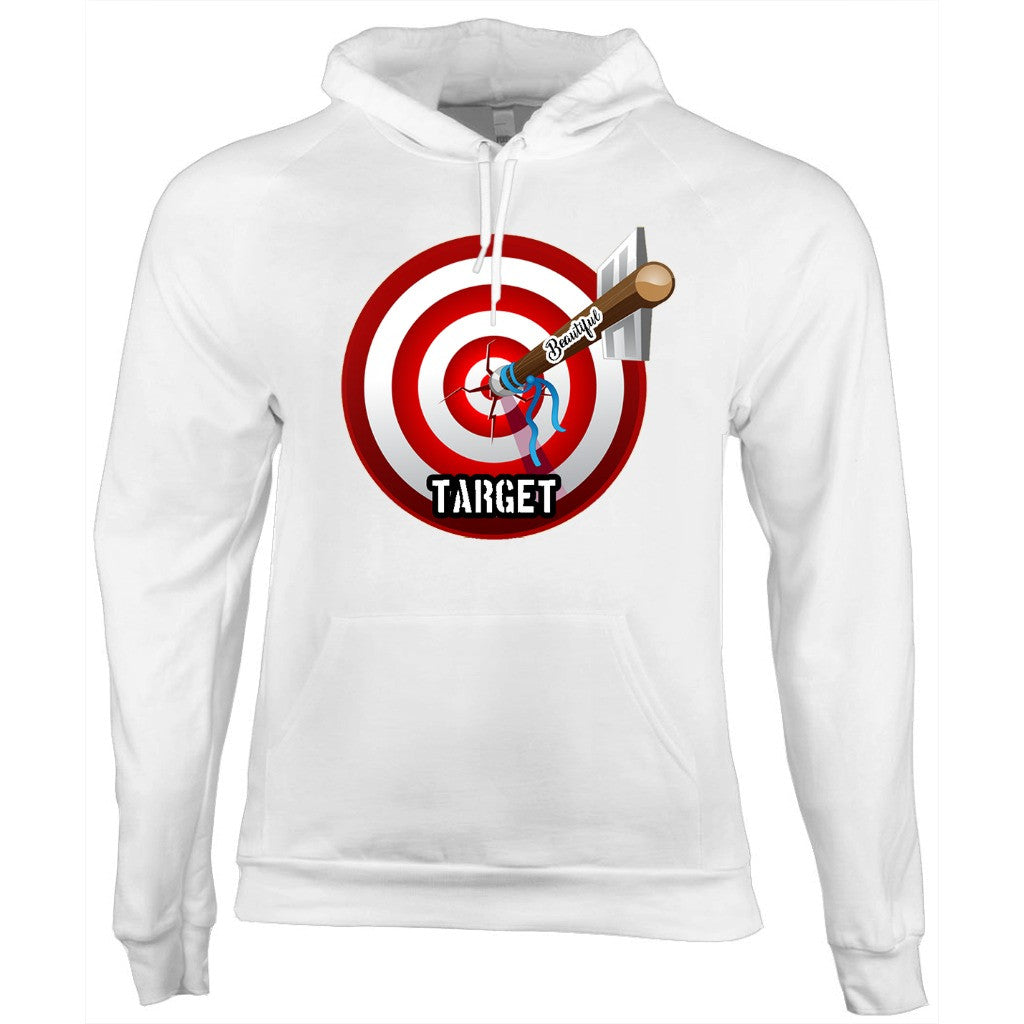 Beautiful Target Hoodie (White Ver)
