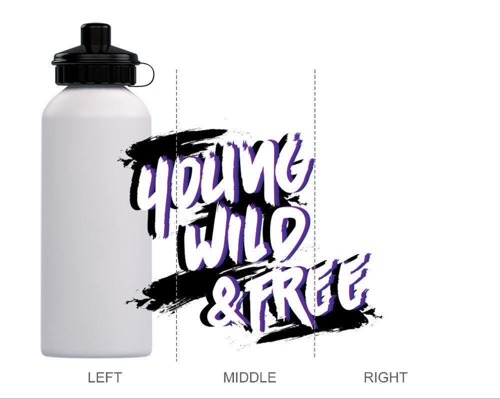 Young, Wild & Free Water Bottle