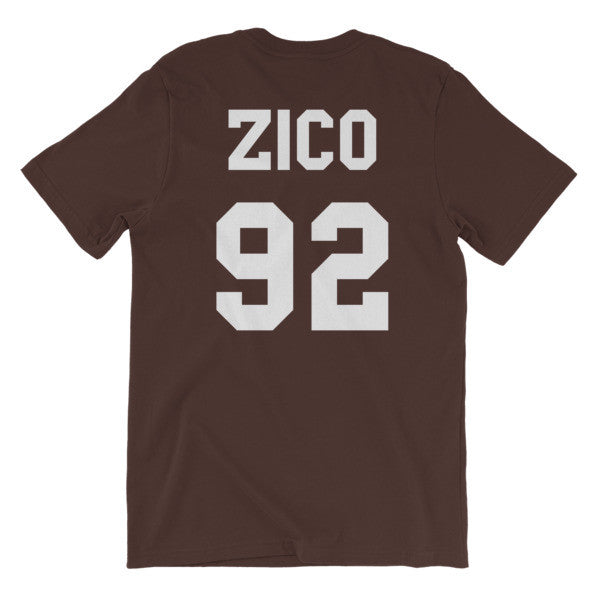 Zico Numbered Jersey Short Sleeve T-Shirt