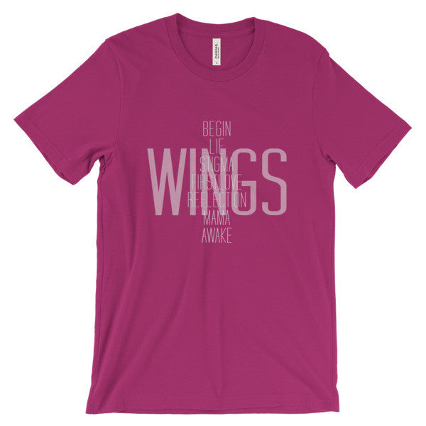 BTS Wings Short Sleeve T-Shirt