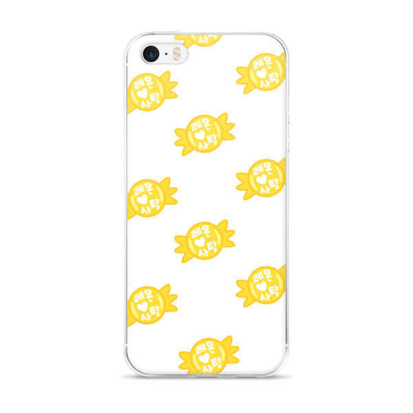 Infinite Lemon Candy iPhone 5/5S/SE & 6S/6Plus/6SPlus Case