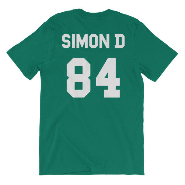 Simon D Numbered Jersey Short Sleeve T-Shirt