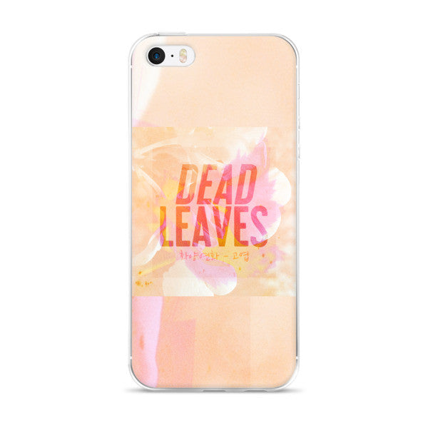 BTS Dead Leaves iPhone 5/5S/SE & 6S/6Plus/6SPlus Case