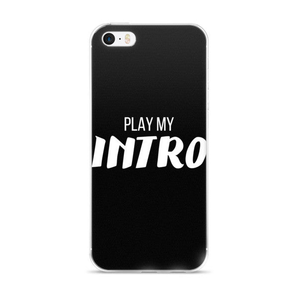 JRE Play My Intro iPhone 5/5S/SE & 6S/6Plus/6SPlus Case  (Ver. 2)