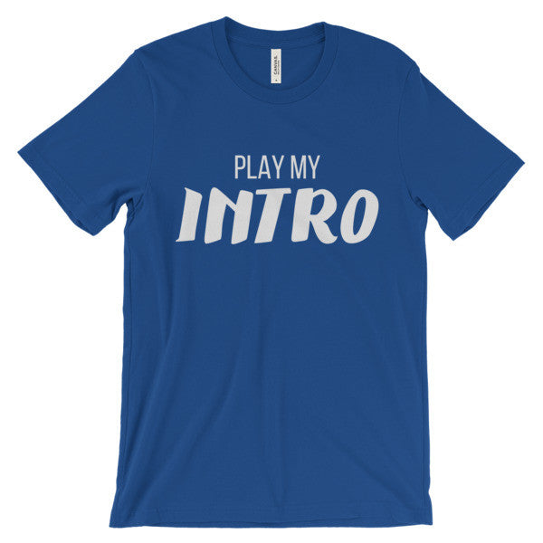 JRE Play My Intro Short Sleeve T-Shirt