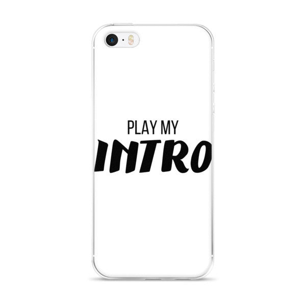 JRE Play My Intro iPhone 5/5S/SE & 6S/6Plus/6SPlus Case  (Ver. 1)