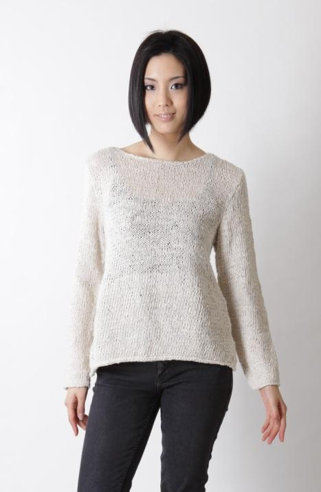 Banana Silk Long Sleeve Knit