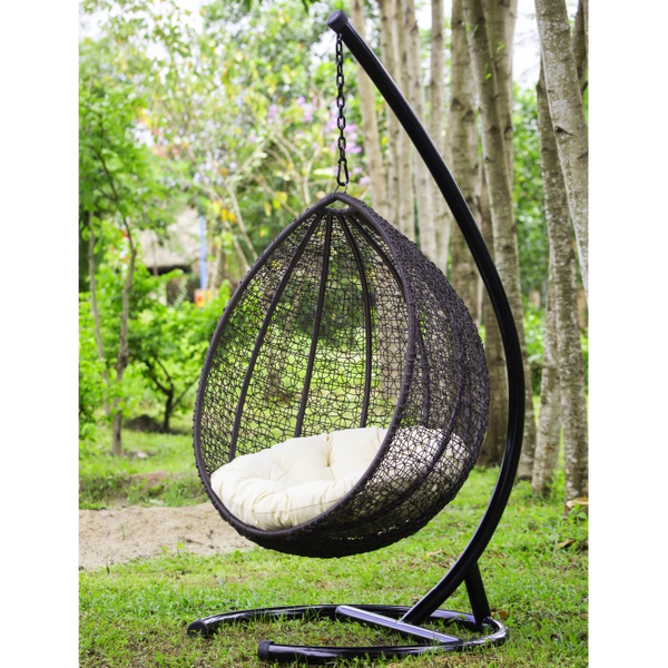 Hanging Egg Wicker Chair
