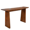 Modern solid mahogany console table