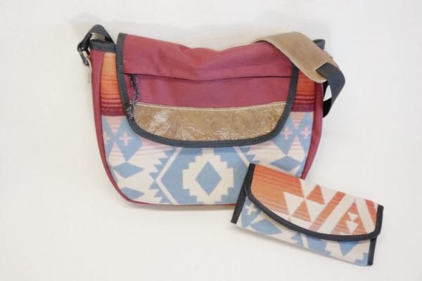 Purse x Clutch made with Genuine Pendleton Wool