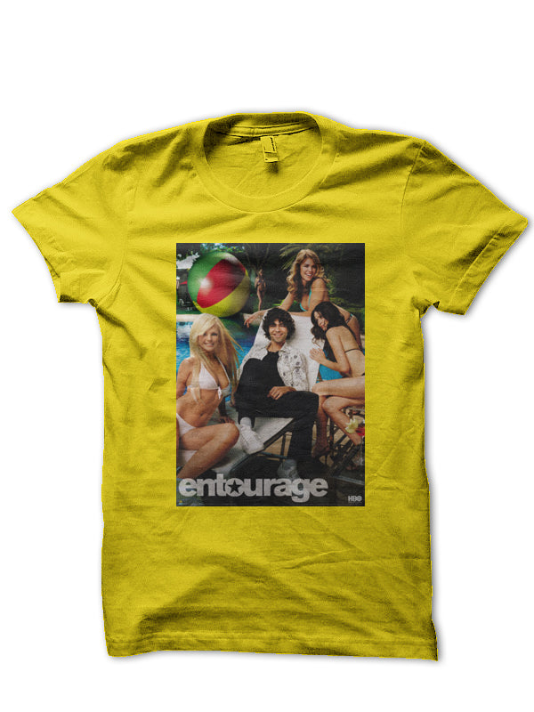 ENTOURAGE VINCE CHASE TEE (MUSTARD) - REP CULTURE