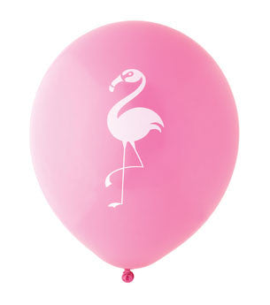 Flamingo Balloon: Hot Pink/White
