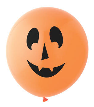 Pumpkin Balloon: Orange/Black