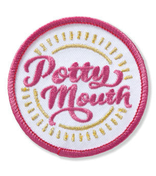 Potty Mouth Demerit Badge