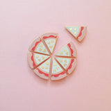 Pizza My Heart Lapel Pin