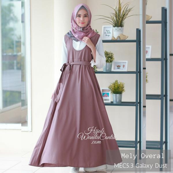 Melly Overal Original by Hijab Wanita Cantik